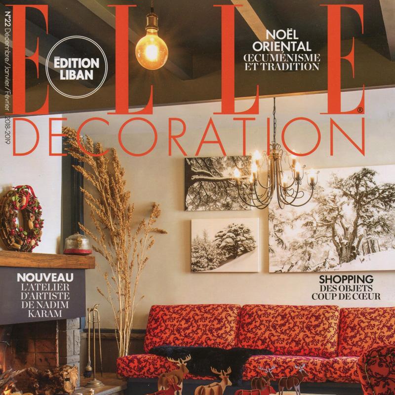 Dori Hitti in Elle Déco Magazine